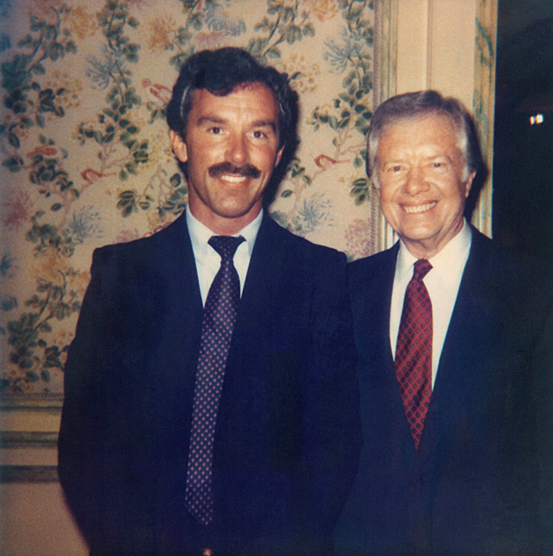 1985 Book Tour with President Jimmy Carter