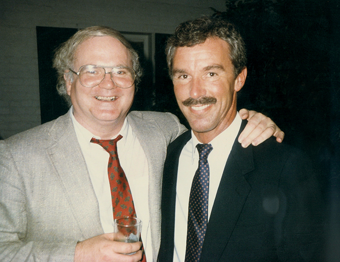 With Pat Conroy New Orleans-1986- Prince of Tides Launch-sm